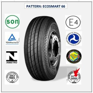 All Steel Radial Truck & Bus Tires with ECE Certificate 435/50r19.5 (ECOSMART 66) pictures & photos