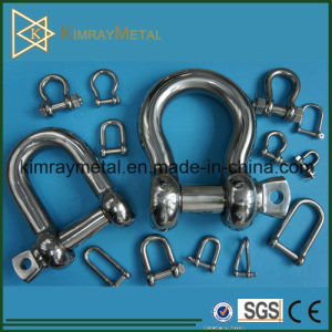 Stainless Steel Dee and Bow Shackle