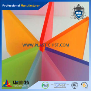2015 Virgin Solad Colorful PMMA Cast Acrylic Sheet pictures & photos