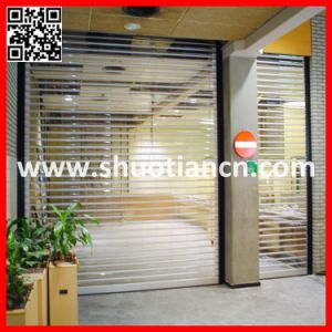 See Through Crystal Roll Door (st-003) pictures & photos
