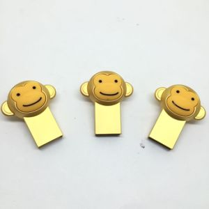 Mini Golden Monkey USB 2.0 Memory Stick pictures & photos