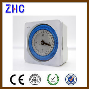 Without Battery 230VAC Timer 24 Hour Time Switch pictures & photos