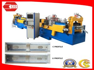 Light Frame Steel Building C-U Purline Forming Machine with Software pictures & photos