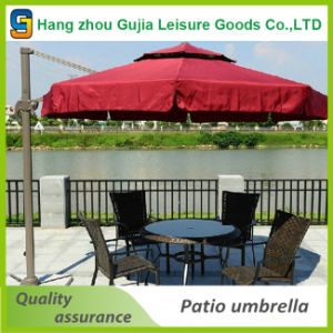 Pool Garden Strong Side Stand Outdoor Solar Umbrella