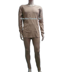 Long Thermal Underwear Set in Khaki for Military pictures & photos