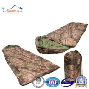 Camouflage Warm Envelope Outdoor Sleeping Bag