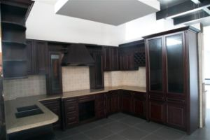 American Solid Wood Birch Kitchen Cabinet pictures & photos