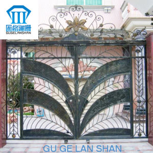 High Quality Crafted Wrought Iron Gate/Door 008 pictures & photos