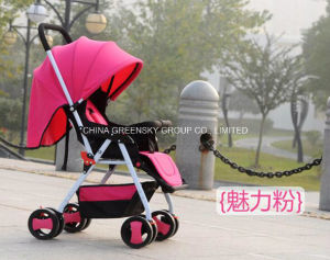 2016 New Umbrella-Baby Stroller with En1888 Pink pictures & photos
