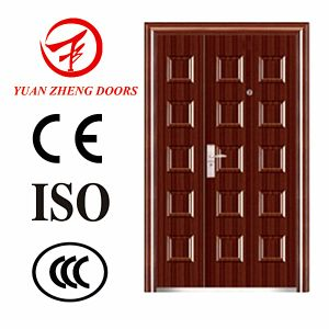 Swing Open Style and Exterior Door Position Front Double Steel Design pictures & photos