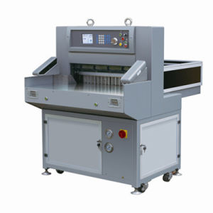 Program Control Paper Cutting Machine (QZYK660L5) pictures & photos