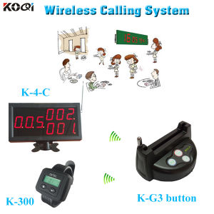 China Hot Sell Waterproof Pager Restaurant Table Caller