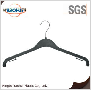 Fashion Women Plastic Hanger with Metal Hook for Display (25cm) pictures & photos