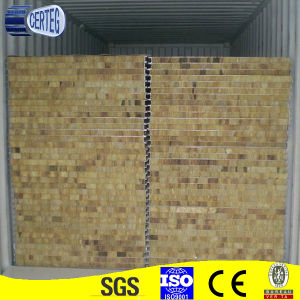 Rock wool sandwich panel for wall pictures & photos
