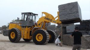 23ton Front Forklift Wheel Loader Xj968-23D Use for Mining