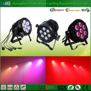 Stage Lighting Industry Wholesale 7PCS LED Waterproofing Stage PAR Light