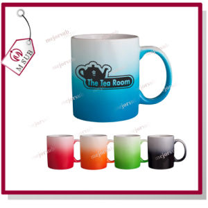 11oz Sublimation Colored Ceramic Promotional Mug with Logo pictures & photos