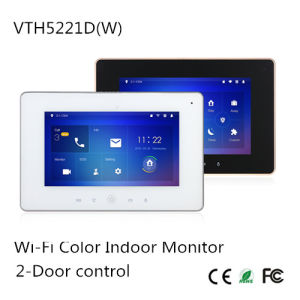 Wi-Fi Color Indoor Monitor {Vth5221dw}