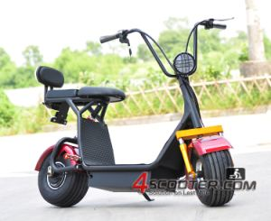 Chinese Harley Custom Mobility 800W Brushless Motor 2 Seats Electric Scooter Es5018