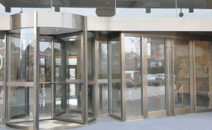 Automatic Door Revolving Door Four Wings Manual Type pictures & photos