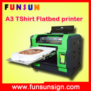 2016 Funsun New Direct to Garment Printer with A3 A4 Size Dx5 Head Cmyk White 8 Colors (1440dpi, best quality, best price) pictures & photos
