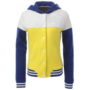 Women′s Fashion Casual Zipper Plain Cotton Hoodie pictures & photos
