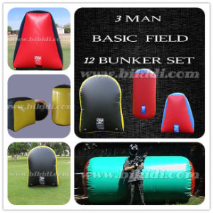 Funny Giant Durable Inflatable Bunker Field, Paintball Air Field, Millennium Field Paintball Bunkers K8006 pictures & photos