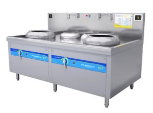 Stainless Steel Electric 15kw Commercial Induction Stove pictures & photos