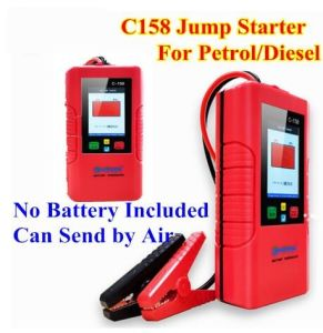 China Car Jump Starter C158 C-158 12V Battery Power Bank No