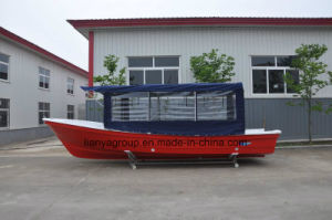 Liya 7.6m Twin Engines Aluminum T-Top Ce Fishing Marine Boats pictures & photos