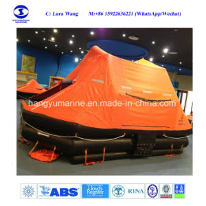 25 Persons Self-Righting Davit-Launched Inflatable Life Raft pictures & photos