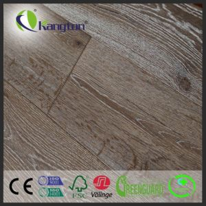 20/6mm Thickness 190mm Wide EU Oak Engineered Wood Flooring with Deep Embossed pictures & photos