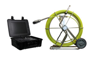 Hot New Pan and Tilt Rotate Wopson Detect Leaks Water Camera Video Inspection pictures & photos