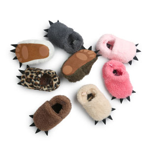 Cute Baby Boys Girls Bear Paw Animal Slipper Bootstoddler Infant Crib Shoes pictures & photos