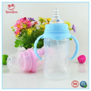 Plastic Wide Neck Infant Feeding Milk Bottle From 180ml to 330ml pictures & photos