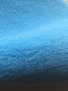 Blue Polyester Paint Roller Fabric pictures & photos