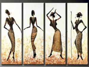 Combination of Abstract Figures Oil Painting pictures & photos