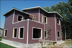 Decorative PU Foam Insulation Panels for House