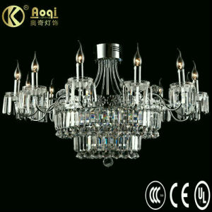 Modern Design Luxury Crystal Pendant Lamp (AQ40001-12+9+9DC) pictures & photos