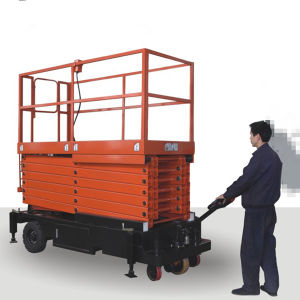 6-11m Scissor Lift Sjy (with pulling device) pictures & photos