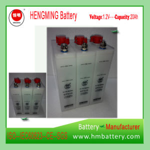 Hengming Sintered Type Nickel Cadmium Battery Kpx Series /Ni-CD Alkaline Battery pictures & photos