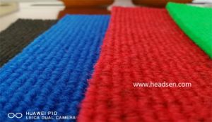 Wholesale 100% Polyester Rib Nonwoven Exhibition Carpet