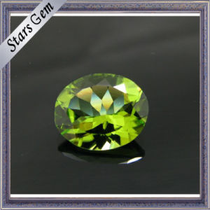 Artificial Peridot Pear CZ Beads (STG-118) pictures & photos