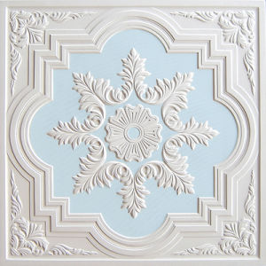 Colorful Gypsum Board Artistic Ceiling-S005bl