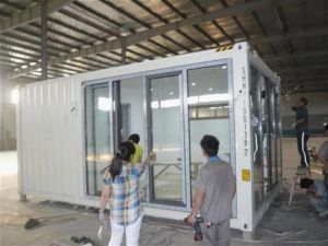 steel container house for labor camp/hotel/office/accommodation