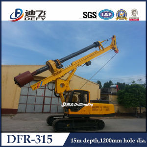 Rotary Hydraulic Pile Driver for 15m pictures & photos