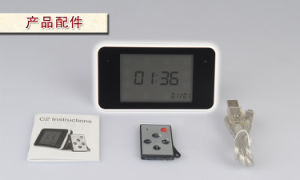 Flat Touch Pad, Low-Voltage Detection Clock Camera (ECM-CL19)