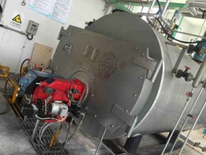 Industrial Natural Gas Diesel Oil Fired Steam Boiler with High Efficiency pictures & photos