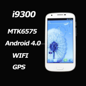 New Gt-I9300 Mtk6575 Android 4.0 WCDMA 4.8 Inch Capacitive WiFi GPS Smart Phone
