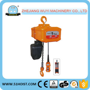 Hhw-B Series Electric Chain Hoist with Safety Hook 5 Ton